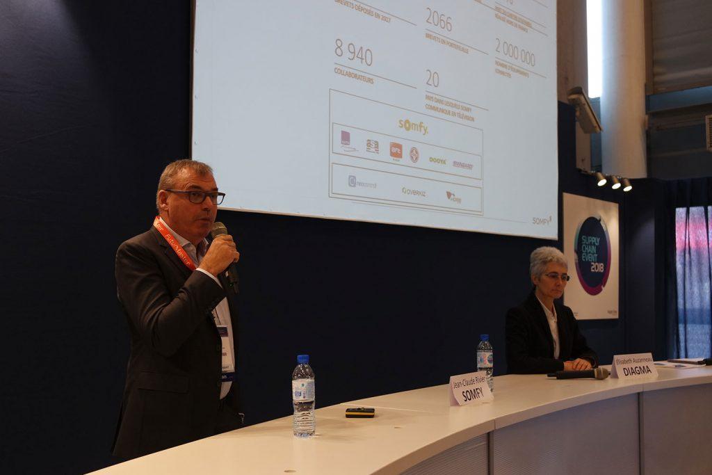 Jean-Claude Rivier, Directeur Industriel Groupe de SOMFY et Elisabeth Auzanneau, Directrice Associée de DIAGMA