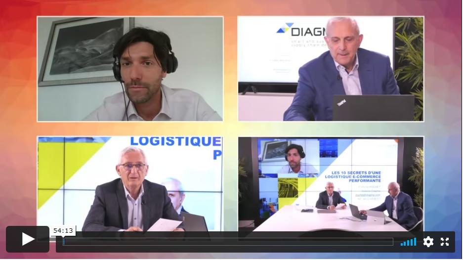 """WEBINAIRE """"10 secrets dune logistique e-commerce performante"""
